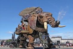 L'éléphant de l'Île-de-Nantes (Pays-de-la-Loire