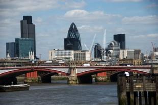 Quartier d'affaires à Londres