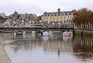 La Mayenne, à Laval