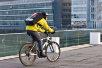 Livraison à vélo