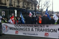Manifestation PM Paris 04 mars 2014