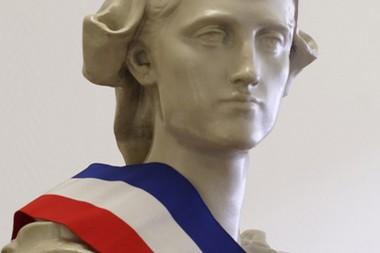 Marianne dans une mairie