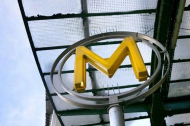 Station de métro à Paris