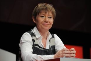 Odile Renaud-Basso, directrice générale adjointe et directrice des fonds d'épargne de la Caisse des dépôts