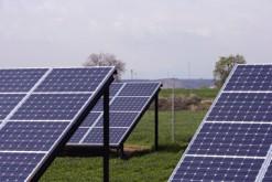 Panneaux solaires à la campagne