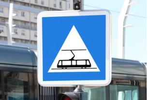 Panneau tramway