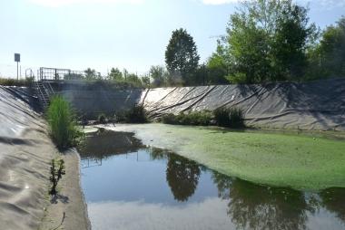 Eaux pluviales tout savoir sur les bassins de r tention - Terrassement bassin de retention ...