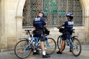 Policiers municipaux à vélos