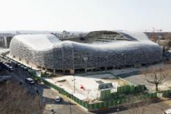 Le stade Jean Bouin, à Paris, inauguré le 30 août 2013.
