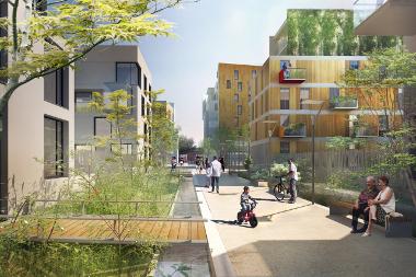 Quand l'aménagement d'un quartier s'adapte au changement climatique