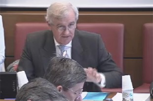 Robert de Metz, président du conseil d'administration de Dexia