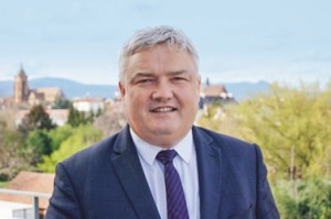 Eric Straumann, président conseil dŽpartemental du Haut Rhin