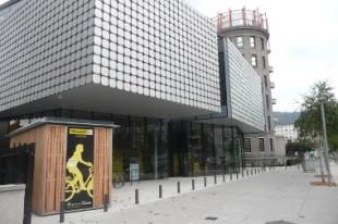 Bâtiment abritant StationMobile, à Grenoble (Isère).
