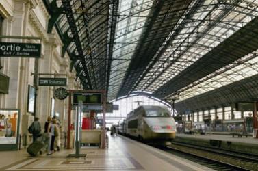 TGV, départ, arrivée