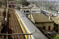 Train, habitations
