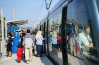 Tramway, passagers