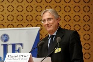 Vincent Sivré, président du SJF