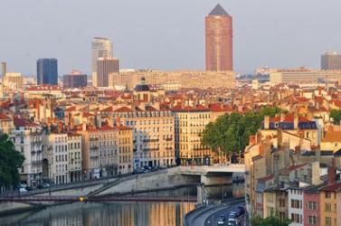 Le quartier de la Part-Dieu, à Lyon