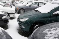 Circulation des voiture par temps de neige