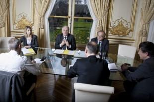 Jean-Marc Ayrault, interviewé par la rédaction de la Gazette le 9 avril 2013.