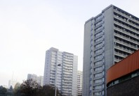 Immeubles HLM de loin