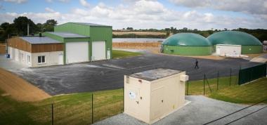 La quatrième unité de méthanisation raccordée au réseau de gaz est celle d'Agribiométhane à Mortagne-sur-Sèvre en Vendée.