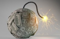 Financial crisis bomb