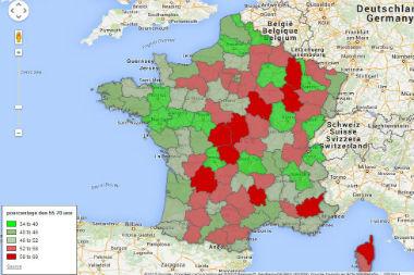 carte interactive des déserts médicaux Nouvelle carte des déserts médicaux : votre commune est elle