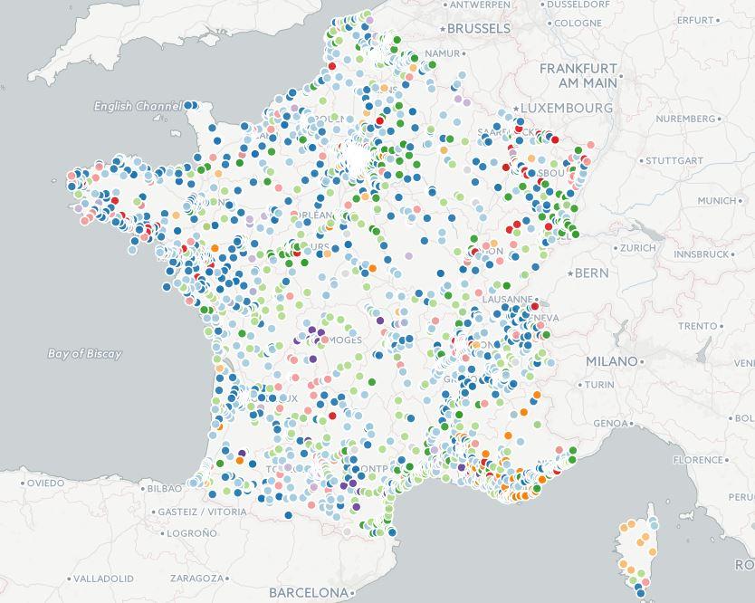 [Cartographie] Elections professionnelles dans la fonction publique : résultats détaillés et analyses