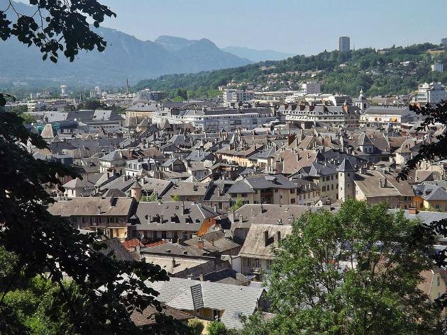 Centre ancien de Chambéry, Florian Pépellin, CC BY SA 3.0