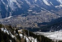 Chamonix ville de montagne