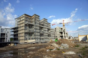 Chantier de logements