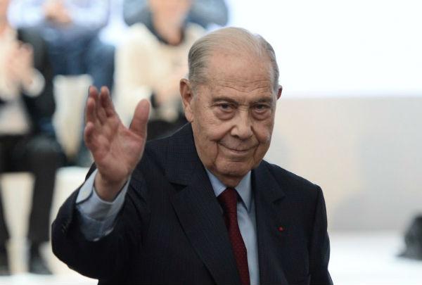 Charles Pasqua, le 30 mai 2015, lors du Congrès fondateur de Les Républicains.