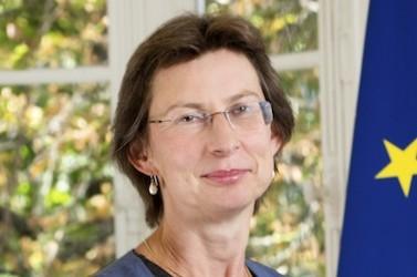 Clotilde Valter, secrétaire d'Etat en charge de la Réforme de l'Etat et de la Simplification