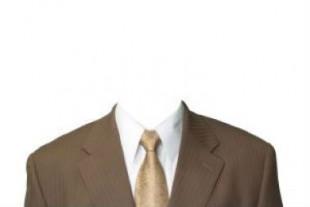 costume homme sans tete