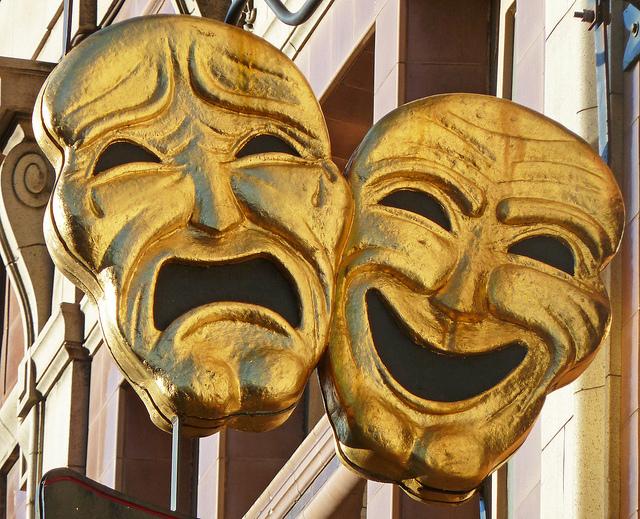 masque de comédie et de tragédie
