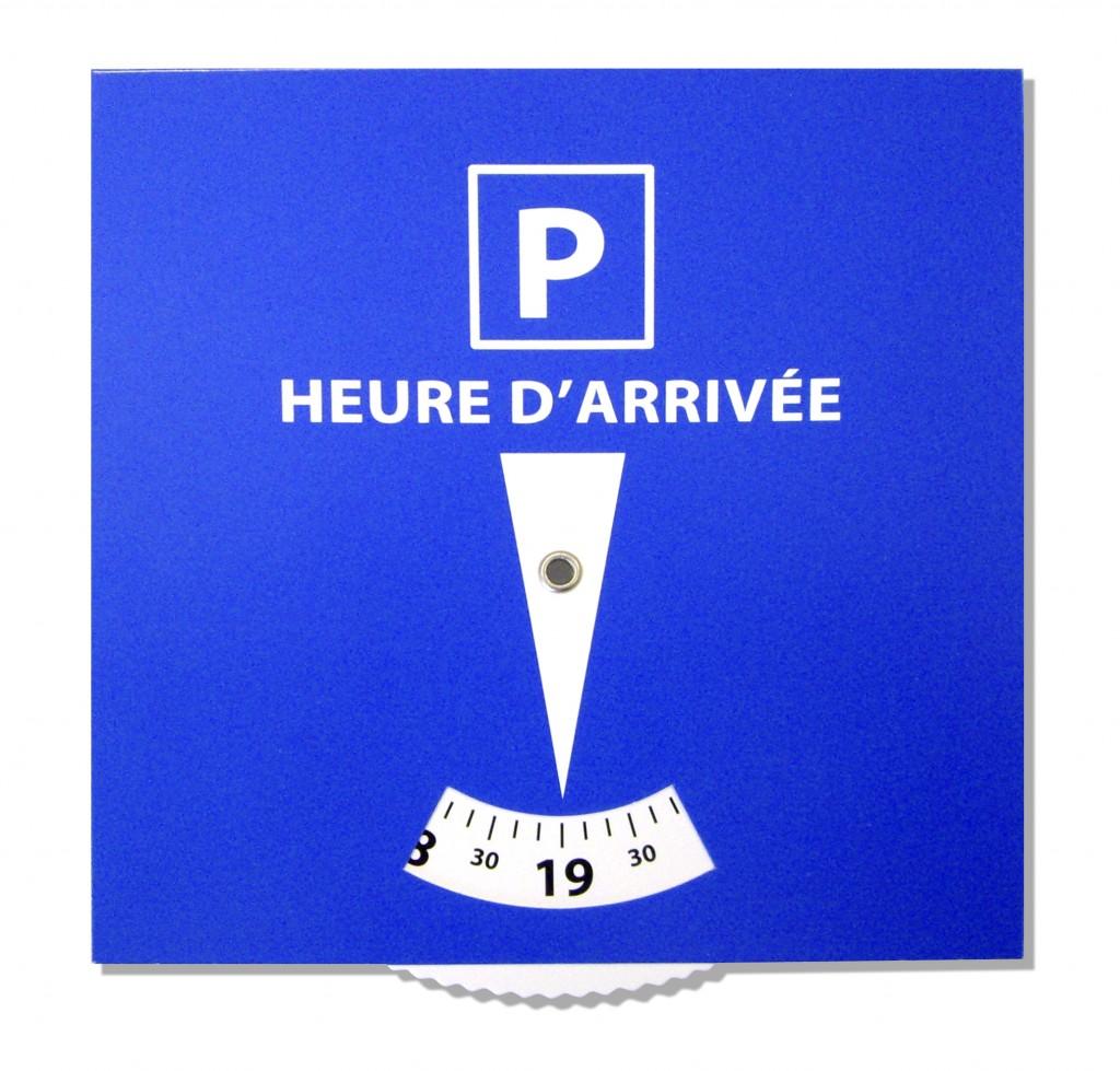disque stationnement