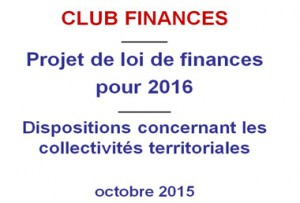 Le décryptage du PLF 2016 et de la réforme de la DGF