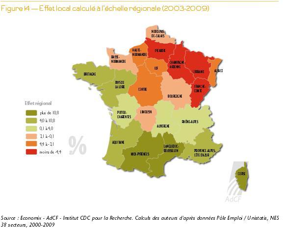 L'effet local par région (Cliquez sur l'image pour l'agrandir).