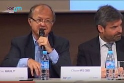 Eric Giuly, lors d'un débat organisé par le Forum pour la gestion des villes, le 2 juin 2015.