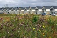 étalement urbain et maisons lotissement