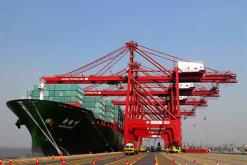 navire dans un port