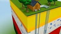 Géothermie, capteurs verticaux