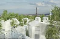 «Mille Arbres» au-dessus du périphérique, projet de OGIC et la Compagnie de Phalsbourg