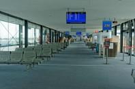 hall de l'aéroport de Lyon