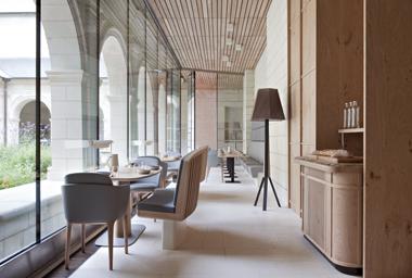 L'hôtel de l'Abbaye de Fontevraud © Abbaye de Fontevraud