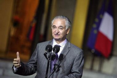 Jacques Attali, président de la Commission de la libération de la croissance lors de la remise de son 2ème rapport, le 15 octobre au soir