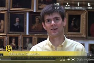 Sébastien Gosselin, conservateur des musées de Vienne
