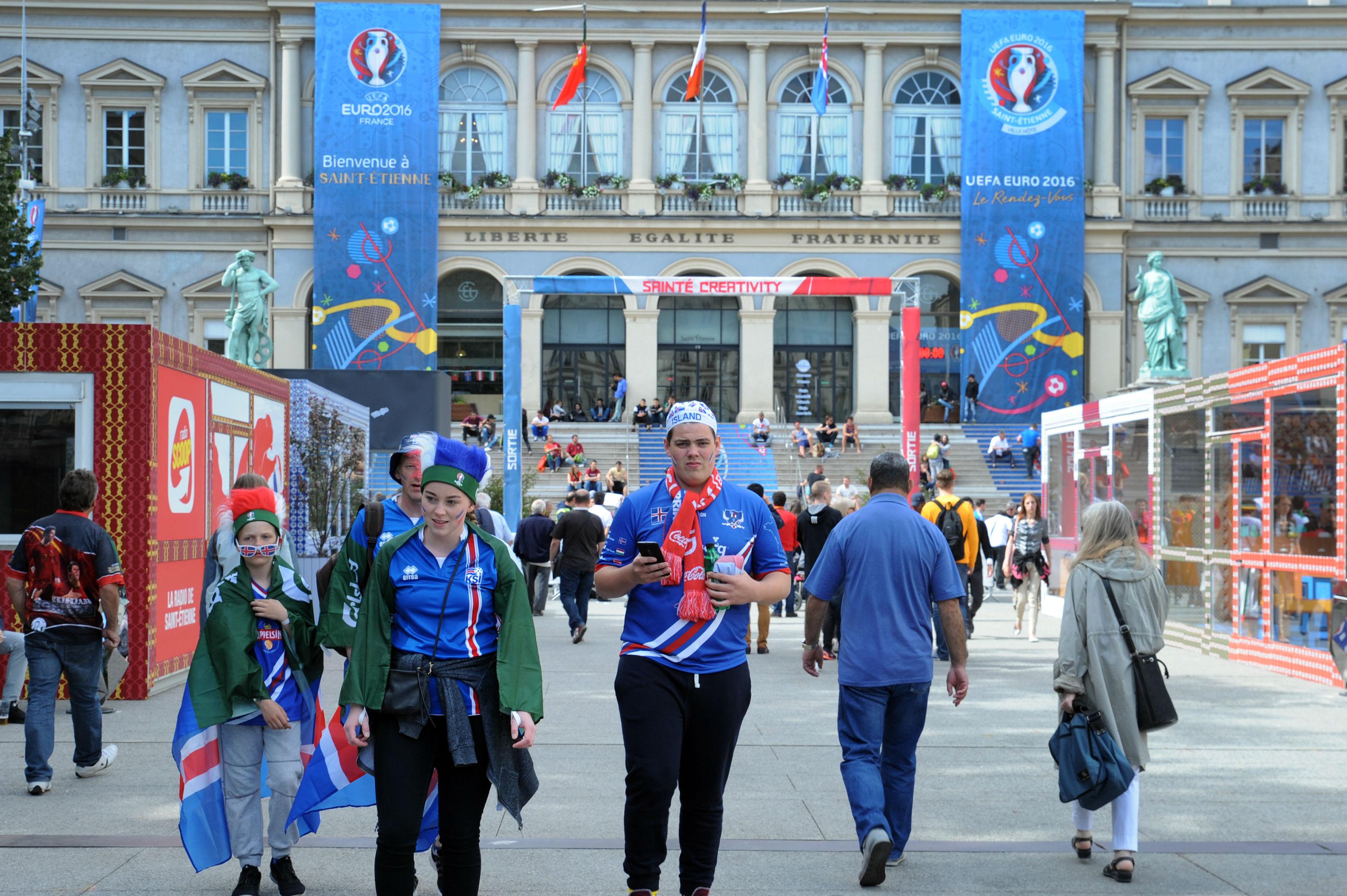 Euro 2016: premier bilan positif des villes-hôtes