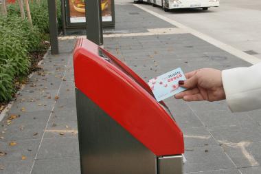 Pass mobilité à Strasbourg.